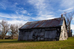 Historic Barn at Sunrise Royalty Free Stock Photo