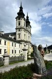 Spital am Pyhrn Cathedral, Oberosterreich, Austria royalty free stock images