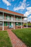 Historic barracks at Fort McHenry, in Baltimore, Maryland.  stock photo