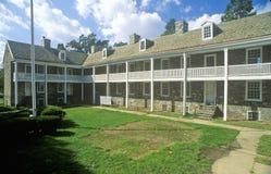 Historic barracks in Trenton, NJ Royalty Free Stock Photos