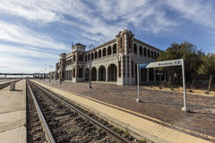Historic Barstow Station in California Stock Photography
