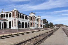 Historic Barstow Train Station in the Mojave Desert Stock Photography