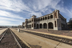 Historic Barstow Train Station Southern California Stock Image