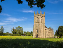Historic Battlefield Church in Shrewsbury, England. St Mary Magdalenes Church, Battlefield,  built on the site of the Battle of Shrewsbury in 1403 between Henry Royalty Free Stock Photo