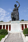 Historic Bavaria Statue in Munich Stock Images