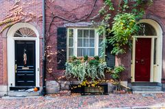 Free Historic Beacon Hill Of Boston, Massachusetts Stock Images - 103143364