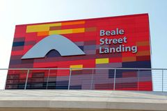 Historic Beale Street Stock Photos