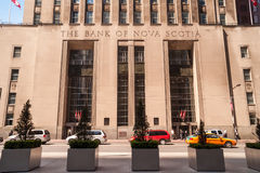 Historic Beaux-Arts Bank of Nova Scotia in Toronto Stock Photography