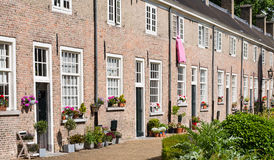 Historic beguinage in the Dutch city of Breda Royalty Free Stock Image