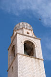 Historic Bell Tower, Dubrovnik, Croatia Stock Photo