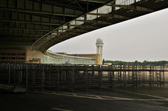 Historic Berlin Tempelhof Airport Stock Photography