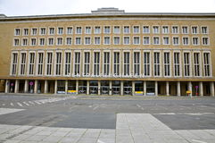 Historic Berlin Tempelhof Airport Royalty Free Stock Photos