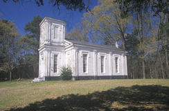 Historic 1826 Bethel Presbyterian Church in deep South of MS Royalty Free Stock Photography