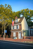 The historic Betsy Ross house Stock Photo