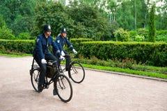 Historic Bike Ride Royalty Free Stock Photo