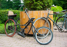 Historic Bike Ride Royalty Free Stock Image