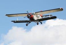 Historic biplane. Royalty Free Stock Photos