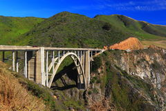Historic Bixby Bridge Royalty Free Stock Photography