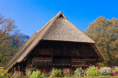 Historic Black Forest Farmhouse - Black Forest Open Air Museum Vogtsbauernhof, Gutach, Germany. royalty free stock photography