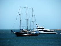 Historic Boat Royalty Free Stock Photography