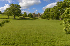 Historic Bodiam Castle in East Sussex Stock Photography