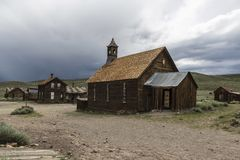 Historic Bodie Ghost Town Royalty Free Stock Photos