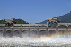Historic Bonneville Dam Stock Image