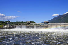 Historic Bonneville Dam 2 Stock Photography
