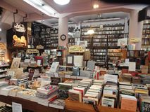 Inside the oldest bookshop in Buenos Aires. Historic bookshop in San Telmo, Buenos Aires Stock Image