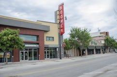 Historic Boomer Theater Royalty Free Stock Photos
