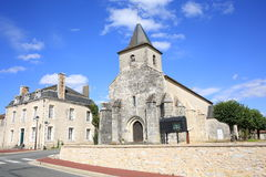 Historic Bourg Archambault in France Stock Images
