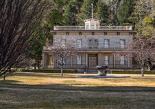 Historic Bowers Mansion Stock Photo