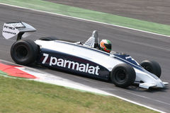 Historic brabham lauda Royalty Free Stock Photo