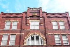 Historic Brick Building Royalty Free Stock Images