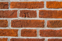 Historic bricks in the masonry of the palace museum reserve Tsaritsyno after restoration Royalty Free Stock Photo
