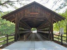 Historic bridge. Historic covered bridge at Stone Mountain, Georgia, USA stock photos
