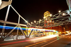 Historic bridge of night Stock Photo