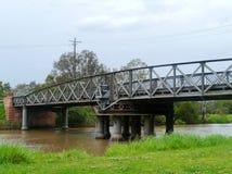 Historic bridge to cross the Latroce river Stock Photography