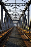 Historic bridges in Tczew - rail and road - Poland, Stock Image