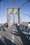 Historic Brooklyn Bridge Royalty Free Stock Photo