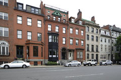 Historic brownstone architecture Boston Royalty Free Stock Photography