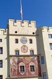The historic Brucktor gate in Wasserburg Royalty Free Stock Photo