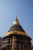 Historic of Buddha at Thailand. This is historical Wat pra tard lumpang leang Royalty Free Stock Photography