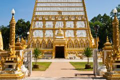 Historic buddhist church Royalty Free Stock Photo