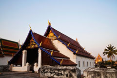 Historic buddhist church in Thailand Royalty Free Stock Image