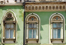 Historic building (16). Detail from historic building on Timisoara, Romania. July 2009 Royalty Free Stock Photo