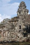 Historic building - Angkor Wat Royalty Free Stock Photography