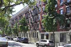 New York City, 2nd July: Historic building Apartments in Manhattan from New York City in United States stock photos