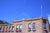 Historic building in Aspen Stock Photography