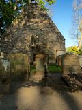 Historic building, Ayr, Scotland Royalty Free Stock Photos